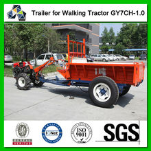 1-1.5 Tons tractor trailer GY7CH-1.0T, for cargo transportation, grain delivery