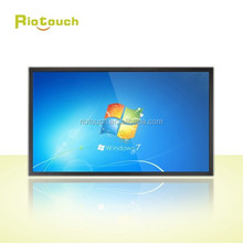 """Riotouch China CE FCC Rohs 65"""" 84"""" IR touch screen USB touch frame with factory price LED IR Multi touch screen monitor"""