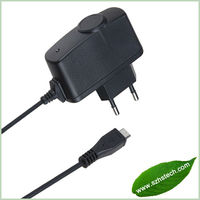 2014 hot sale Micro USB Travel/Home Charger and Cable 1000 mAh cheap price HS