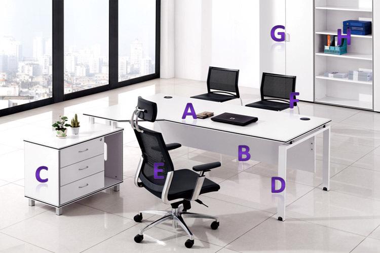 New Modern Office Furniture Office Desk