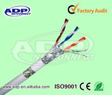 Cable de red cat7 CMR Grado 4 pares estándar UL