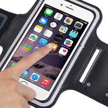 New Arrived Cheap Sports Gym Running Soft Pouch Case for iPhone 6 Armband Running
