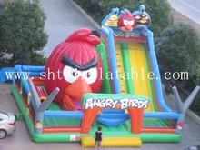 Funny kids inflatable amusement park , giant inflatable amusement park
