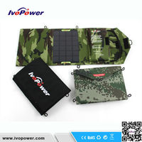 Portable Universal 10W 5V 2A 18650 solar mobile phone battery charger