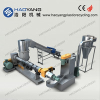 newest plastic bags recycling machines/plastic bottle recycling/plastic recycling machine germany