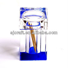 Crystal glass toothpick holder, promotional gift ,crystal gift