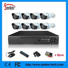 8CH Channel DVR 8 Outdoor 960H 800TVL Home CCTV Security Camera Kit System