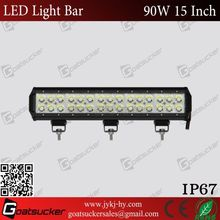 Hot sell A urora 15inches 90w led light bar accessories toyota rav4