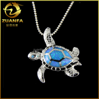 wholesale solid silver hawaii sea blue dolphin opal inlay jewelry