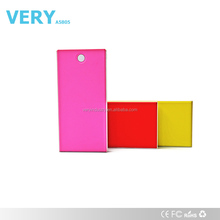8000mah capacity power bank re-chargerable battery for smartphone Tablet