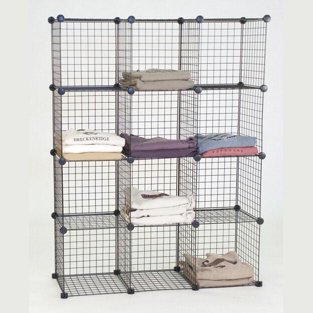 QQ20150514175142.jpg FH-AL0043 BLACK.jpg  sc 1 st  Alibaba & Grid Wire Modular Shelving And Storage Cubes (fh-alw0019) - Buy ...