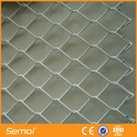 Professional Manufacturer Hot Dipped Galvanized Chain Link Fence