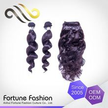 Quality Assured Personalized Natural Color Remy Temple Virgin Wave Indian Loose Curly
