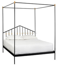 china good quality bedroom furniture king size four poster canopy bed