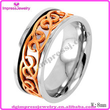 Wholesale cheap price mens any place Occasion and Rings Jewelry Type gold celtic ring designs for men