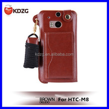 mobile phone housing leather case for HTC M8 mobile phone case for mobile phone