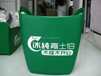 Eco-friendly 3.8MM thickness plastic Ice Cooler Box for bar