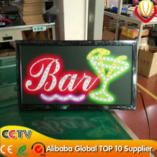 new product outdoor sign board,bar open led sign promotion favor factory direct CE&ROHS