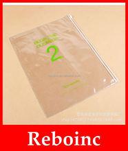 Colored A3 &A4 Size PVC Portfolio File Bag
