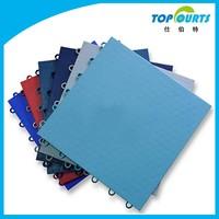 Colorful non-slip synthetic badminton court flooring