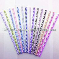 drinking decorative eco recycled drinking paper straw made in china
