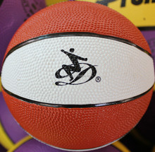 Durable professional custom basketballs with hand print