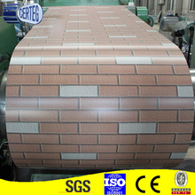 brick printed PPGI/prepainted galvanized steel coil/color coated galvanized steel coil