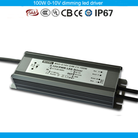 100W dimmable led driver waterproof constant voltage 100W 12V PWM dimmable led strip driver