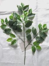 Wholesale artificial banyan tree leaves