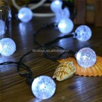 Zhejiang product led string light Cixi Landsign XLTD-137 string light outdoor hanging led light balls
