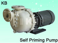 Acid and alkali self-priming pumps,plastic FRPPself-priming pump