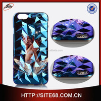 New Arrival!Oem ODm Desinger 3D Blue Light cell phone case, For iPhone 6 mobile phone cover, cell phone accessory
