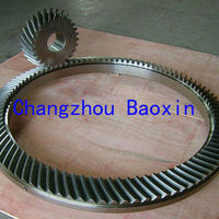 hypoid bevel gear for Oil Drilling Rig