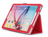 Stand flip cover tablet pc leather case For Samsung Tab S 9.7 inch/T810