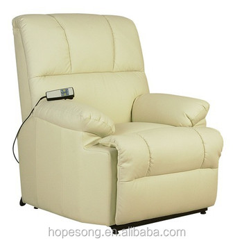 Living Room Sofa Vibrator Electric Lift Chair Leather