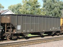 Railway 1000mm gauge wagon for transporting mining