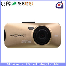 2.7 inch 16:9 display screen car camera with looping video recording and motion defection function
