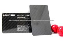 Mode Carbon Fiber carte d'affaires