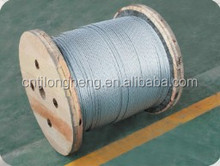 Galvanized Steel Wire Strand, Stay Wire and Earth Wire,Guy wire (FACTORY)