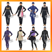 Full Body Swimwear for Muslim Women, XS to XXL, XXXL Cheap Muslim Swimwear Wholesale and OEM Services