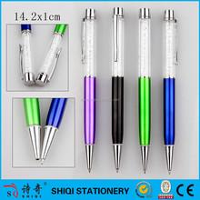 promotion gift plastic diamond pen,cheap plastic pen