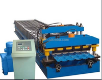 New Type CE Two Profile machine manufacturing corrugat.../roller roofing sheet metal machinery