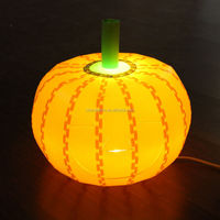 Halloween Pumpkin Table Lamp For Decorative And Lighting
