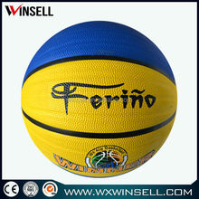 Best-selling nice looking synthetic rubber basketball