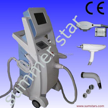 Laser tattoo removal with Elight,RF and Nd Yag Laser Function/CE Approved Alibaba Supplier of Tattoo Removal Equipment