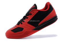 Men Basketball Shoes Leather Classic Althetic Trainers kd basketball Shoes red black color Free Shipping size 40 to 46