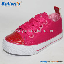 Wholesale Sweet Baby Shoes shiny color shoes for kids