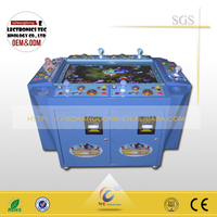 commercial business Seafood Paradise gambling arcade joystick shooting fishes game cheap sale