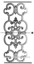Escalera de hierro forjado parte