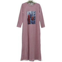 promotional muslim abaya for women Islamic clothing Muslim fashion dress Arabic robes long sleeve maxi dress